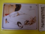 Karmann Ghia metal post card