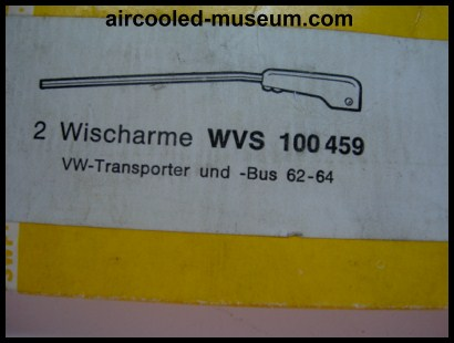 split bus wiper arms